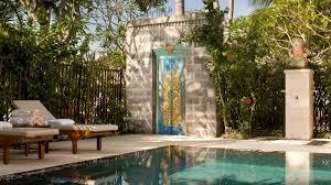 Bedroom Water Feature Modern Luxury Accommodation The Westin Resort Nusa Dua Bali