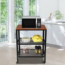 kitchen pantry storage cabinet microwave oven stand with storage 3 layer rolling kitchen bakers rack shelf microwave oven stand storage cart