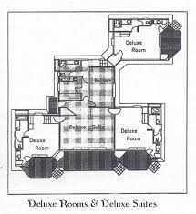 Hotel Suite Floor Plan Esmeralda Resort Deluxe Villa Floor Plan Diagram Map