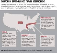 Bill Likes To Travel Be - assembly bill 1887 affects ucla travel to states with discriminatory
