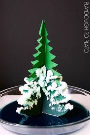growing a crystal tree playdough to plato
