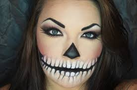 Simple Cat Makeup For Halloween by Calavera Skull Halloween Makeup Turorial Easy Youtube