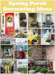 porch decorating ideas spring porch decorating ideas tauni co