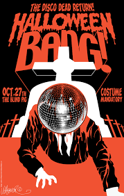 halloween bang poster by jeremy wheeler my art pinterest