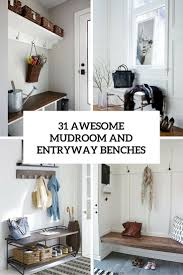 31 awesome mudroom and entryway benches
