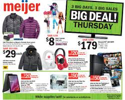 meijer thanksgiving day sale 11 27 14