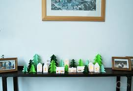 Decorate Room With Paper 45 Wonderful Paper And Cardboard Diy Christmas Decorations