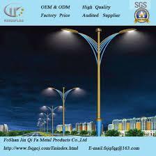 decorative street light poles china supplier outdoor led decorative street lighting pole china