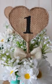 Shabby Chic Table by Best 10 Burlap Table Numbers Ideas On Pinterest Rustic Diy