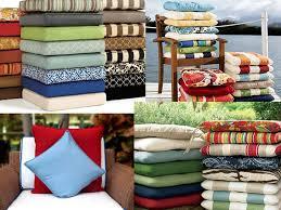 Patio Furniture Cushions Replacement Patio Cushions Venice California Sumbrella Fabrics