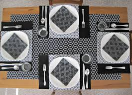placemats napkins and table runner sewing tutorial