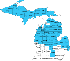 Michigan Map by Michigan Home Page Experience Works
