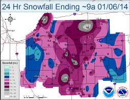 Snowfall Totals Map Snowfall Totals For Central Indiana Fox59