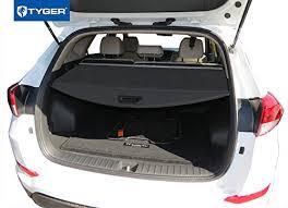 hyundai tucson trunk space amazon com tyger trunk cargo cover for 2016 up hyundai tucson