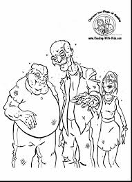 Creepy Halloween Coloring Pages by Surprising Creepy Zombie Coloring Pages With Zombie Coloring Pages