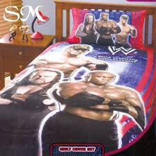 Wwe Duvet Cover Wwe Championship Double Bed Quilt Cover Set New On Popscreen