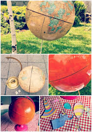 oh the places you ll go graduation party oh the places you ll go diy decoupaged globe centerpiece the