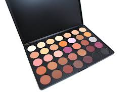 morphe pro 35 color eyeshadow makeup palette warm