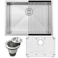Ticor Kitchen Sinks 26 Ticor S3670 Pacific Series 16 Undermount Stainless Steel