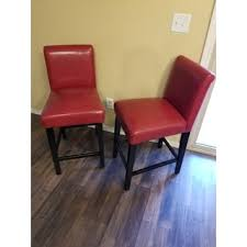 24 inch bar stool with back inch bar stools 24 inch bar stool with bennett 24 inches red faux leather high back bar stools set of 2