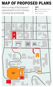 Syracuse Ny Map Promenade Map The Daily Orange The Independent Student