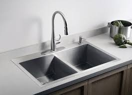 dual mount kitchen sink dual mount sink opens up options for kitchen counter the seattle times