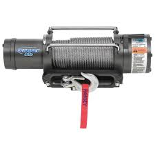 ramsey 12 volt dc powered electric truck winch 9500 lb capacity ramsey 12 volt dc powered electric truck winch 9500 lb capacity galvanized