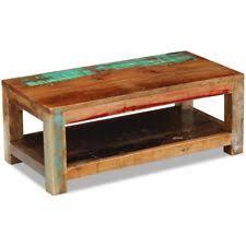 Wood Side Table Reclaimed Wood Coffee Table Ebay