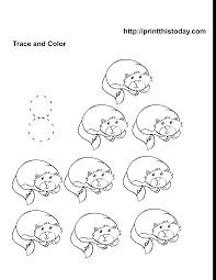 color by number thanksgiving worksheets free pre kindergarten animals math worksheets