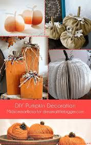 pumpkin decoration diy pumpkin decoration a bigger