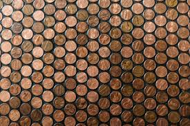 house outstanding hammered copper subway tile copper tile