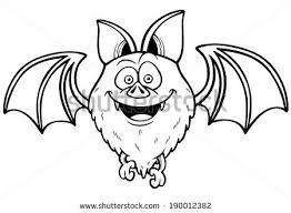 vector illustration cartoon bat stock vector 190012307 shutterstock