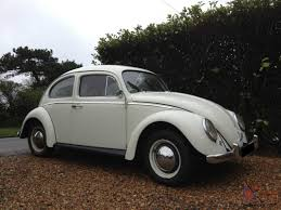 volkswagen beetle white reg vw beetle 1300 new mot tax white with red interior very pretty bug