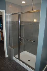 Painting Shower Door Frame Furniture Fancy Image Of Small Bathroom Shower Decoration Using