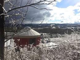 yurt rental on 80 private acres homeaway waterville