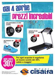 cisalfa le terrazze cisalfa aprile 2013 prezzi incredibili by cisalfa sport issuu