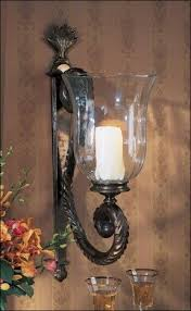 Candle Wall Sconces Hurricane Candle Sconces Wall Foter