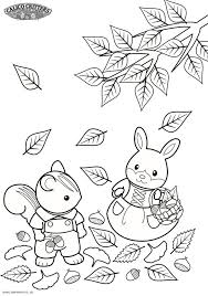 59 best sylvanian family colouring pictures images on pinterest