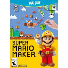 nintendo games super mario maker super mario maker walmart