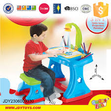 4 in 1 table lamp projection painting kids study table buy kids