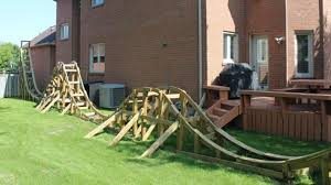 100 backyard pvc roller coaster coolest dad ever builds