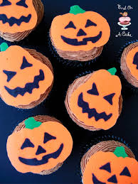 halloween cupcake ideas bird on a cake jack o lantern cupcake toppers with template