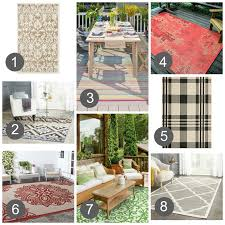 indoor outdoor rugs i u0027m loving it u2022 sweet parrish place