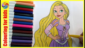 princess coloring pages tangled coloring book rapunzel disney