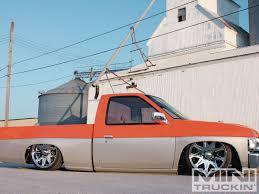 nissan hardbody drift 1994 nissan hardbody never bland mini truckin u0027 magazine