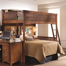 Lofted Bedroom by Lea Industries Elite Crossover Twin Lofted Bed With Slat End