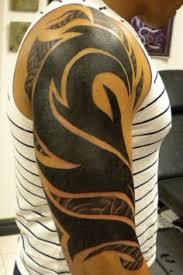 half sleeve tribal tattoo design sleeve tattoos tattoo designs