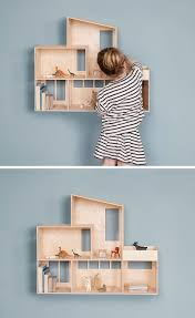 cute bedroom decorating ideas for modern girls contemporist this wall mounted modern dollhouse is great for decorating a cute bedroom for a little