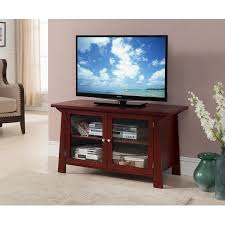 glass cabinet doors for entertainment center 42 cherry wood entertainment center tv console stand with glass