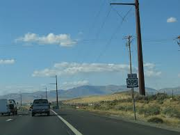 U S Route 395 In by Nevada Aaroads U S Highway 395 Northbound Reno To California